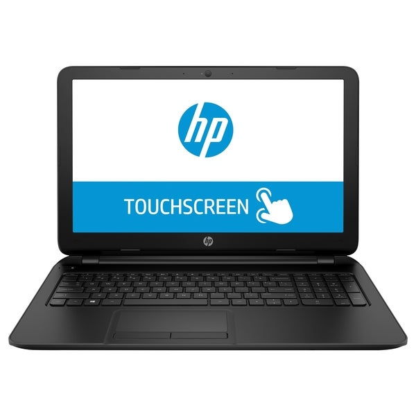 "HP 15-f100dx 15.6"" Touchscreen LED (BrightView) Notebook - Refurbishe"