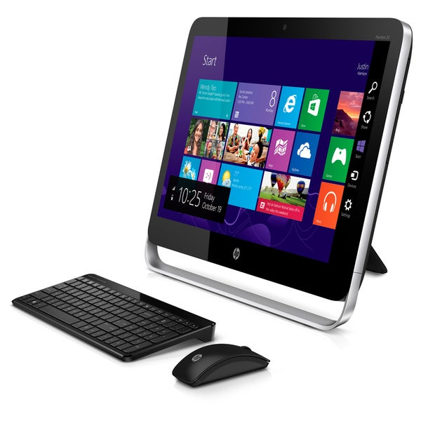 HP Pavilion 23-p114 23-inch 1080p 2GHz AMD A8 8GB RAM 1TB HDD Windows 8.1 All-in-One Computer (Refurbished)