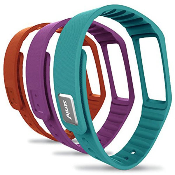 Striiv Fusion/ Walgreens Activity Tracker Accessory Band (Pack of 3)