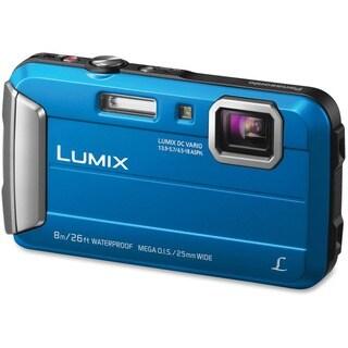 Panasonic Lumix TS30 16MP Blue Digital Camera