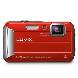 Panasonic Lumix TS30 16 Megapixel Compact Camera - Red