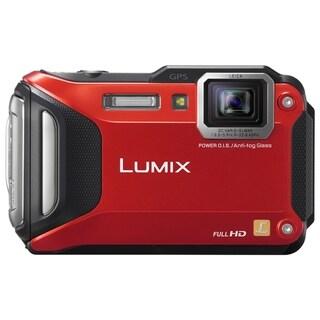 Panasonic Lumix TS6 16 Megapixel Compact Camera - Red