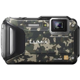 Panasonic Lumix TS6 16 Megapixel Compact Camera - Camouflage
