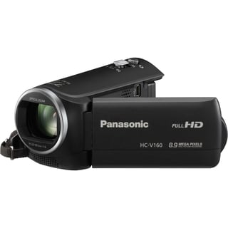 "Panasonic HC-V160 Digital Camcorder - 2.7"" LCD - MOS - Full HD"