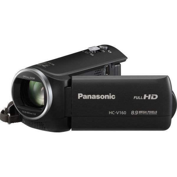 "Panasonic HC-V160 Digital Camcorder - 2.7"" LCD - MOS - Full HD"