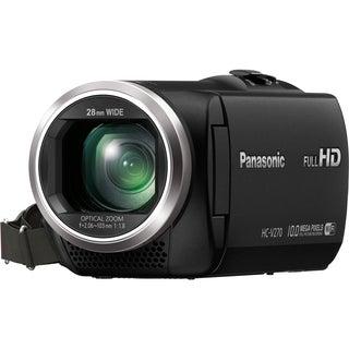 "Panasonic HC-V270 Digital Camcorder - 2.7"" - Touchscreen LCD - MOS -"
