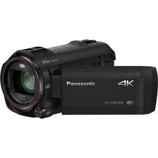"Panasonic HC-VX870 Digital Camcorder - 3"" - Touchscreen LCD - MOS - 4"