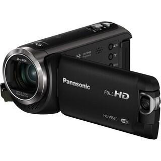 "Panasonic HC-W570 Digital Camcorder - 3"" LCD - MOS - Full HD - Black"