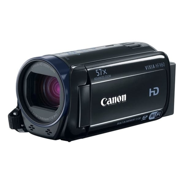 "Canon VIXIA HF R60 Digital Camcorder - 3"" - Touchscreen LCD - HD CMOS"