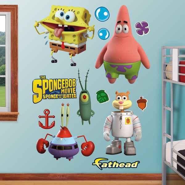 Fathead SpongeBob Movie Collection Wall Decals