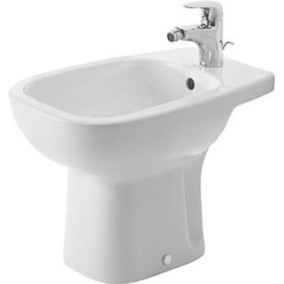 Duravit Floor Standing 22-Inch D-Code White Bidet