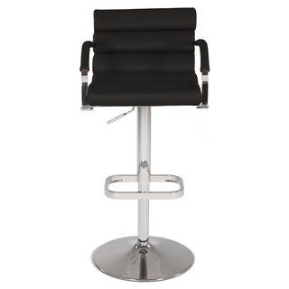 Christopher Knight Home Black Pneumatic Gas Lift Swivel Stool