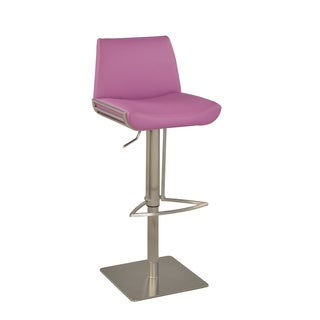 Christopher Knight Home Purple Modern Pneumatic Stool