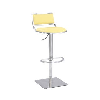 Christopher Knight Home Yellow Open Back Contemporary Pneumatic Stool