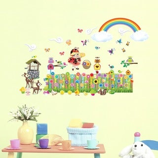 Flower Garden Interactive Wall Set