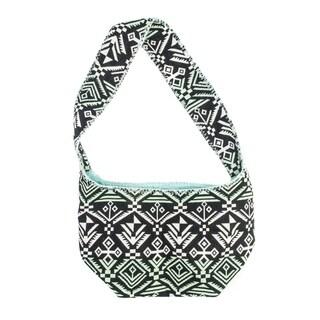 Muk Luks Women's Printed Woven Shoulder Bag
