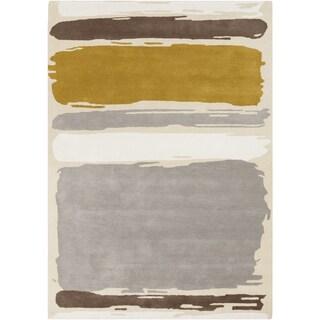 Sanderson :Hand-Tufted Leslie Stripe Wool Rug (8' x 11')