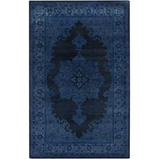 Hand-Tufted Linhope Oriental Wool Rug (2' x 3')