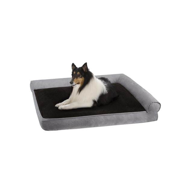 Soft Touch Duke Right Angle Bolster Lounger Dog Bed