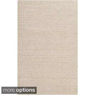 Hand-Woven Gerard Country Felted Wool Rug (8' x 10')