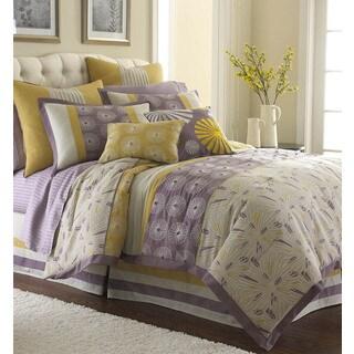 Swirl Burst 8-piece Comforter Set
