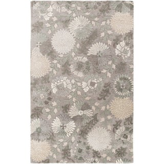 Hand-Tufted Faye Contemporary New Zealand Wool Rug (2' x 3')