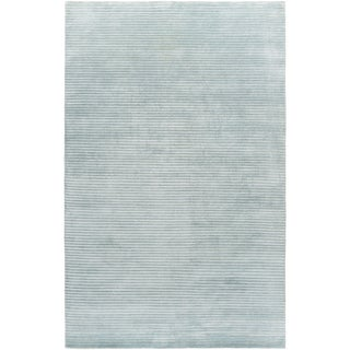 Hand-Knotted Zachary Solid New Zealand Wool Rug (9' x 13')