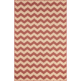 Geometric Stripe Outdoor Rug (7'10X9'10)