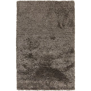 Hand-Woven Shannon Solid Pattern Indoor Rug (2' x 3')