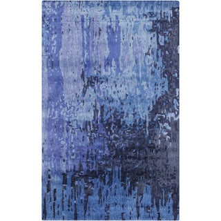 Hand-Tufted Savanna Abstract Pattern Indoor Rug (8' x 11')
