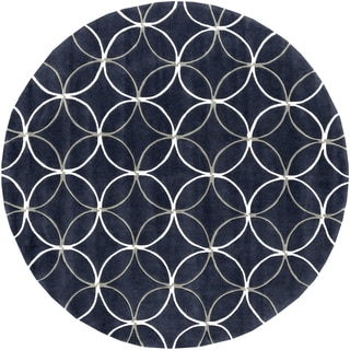 Hand-Tufted Connie Contemporary Polyester Rug (8' Round)