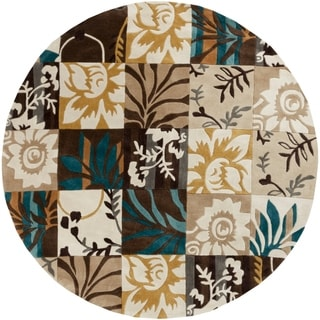 Hand-Tufted Diana Contemporary Polyester Rug (8' Round)