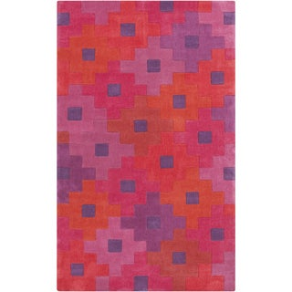 Hand-Tufted Coburn Contemporary Polyester Rug (9' x 13')