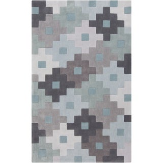 Hand-Tufted Coburn Contemporary Polyester Rug (8' x 11')