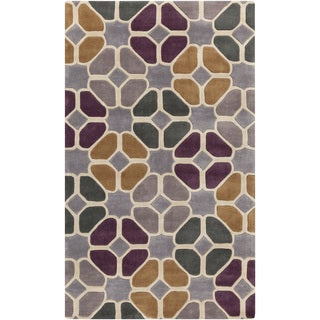 Hand-Tufted Eddleston Contemporary Polyester Rug (8' x 11')