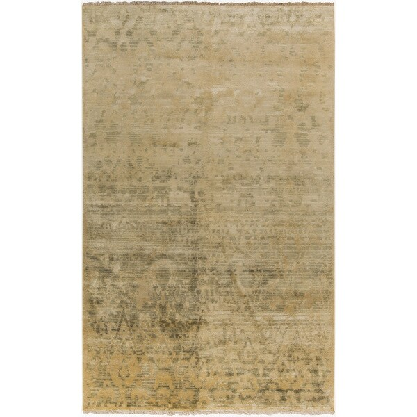 Hand-Knotted Stacey Paisley New Zealand Wool Rug (8'6 x 11'6)