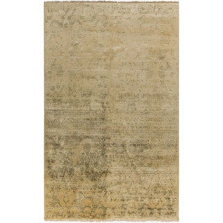Hand-Knotted Stacey Paisley New Zealand Wool Rug (5'6 x 8'6)
