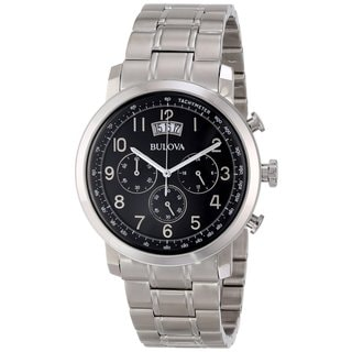 Bulova Men's 96B202 Stainless Steel Chronograph Watch