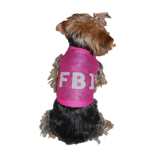 Anima Mesh FBI Dog T-shirt
