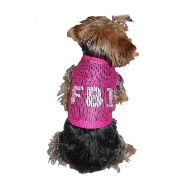Anima Mesh FBI Dog T-shirt