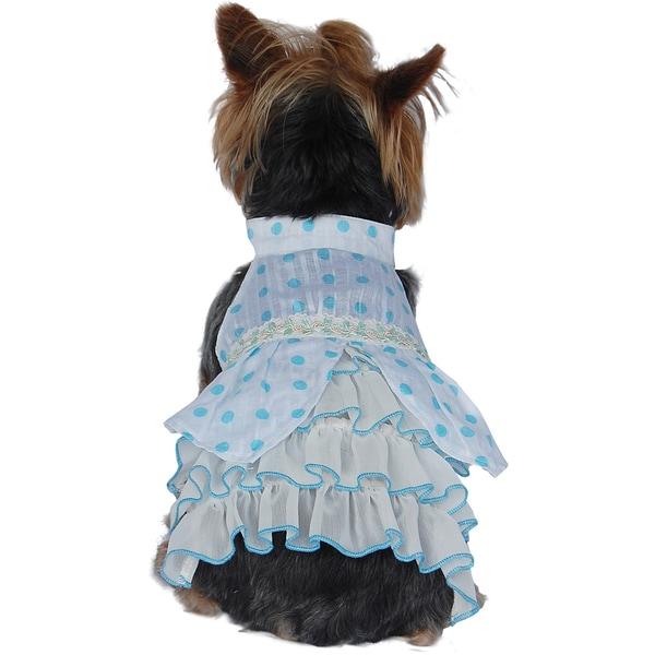 Anima Small Dog Polka-dot Dress