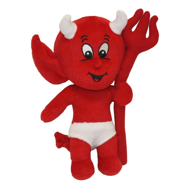 Multipet Hot Stuff Lil' Devil Plush Dog Toy