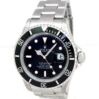 Pre-Owned Rolex Men's 16610 Submariner Stainless Steel Watch