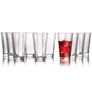Style Setter Uptown Glassware (Set of 12)