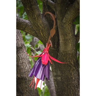 Fuchsia Hummingbird Feeder