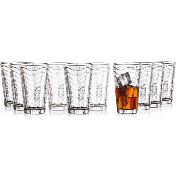 Style Setter Allure 10-piece Glassware Set