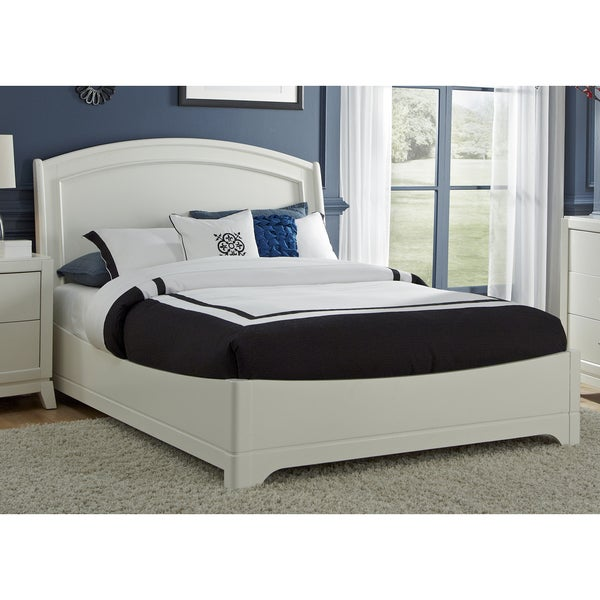 White Truffle Platform Bed Set