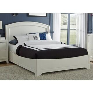 White Truffle Platform Bed Set