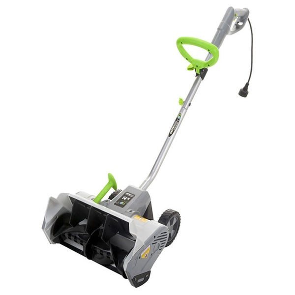 Earthwise 12 AMP Electric Snow Thrower Power Shovel with Wheels
