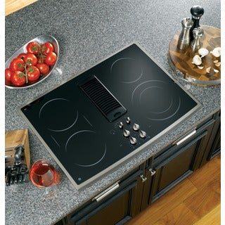 GE Profile PP989SNSS 30-inch Electric Downdraft Cooktop